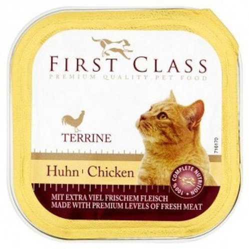 FIRST CLASS CAT CHICKEN 100GR