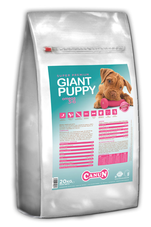 CANUN GIANT PUPPY 20KG