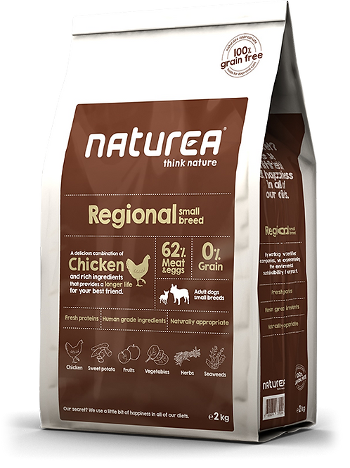 NATUREA REGIONAL SMALL 2KG