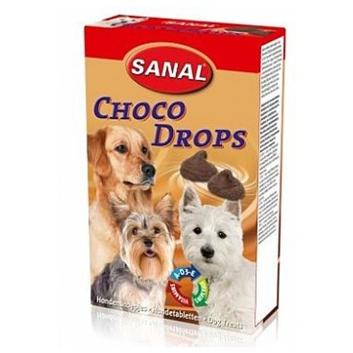 SANAL CHOCO DROPS 125GR