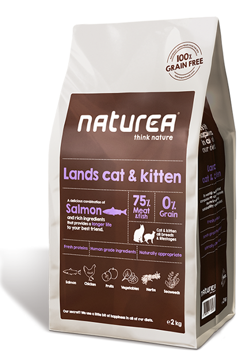 NATUREA LANDS CAT 2KG
