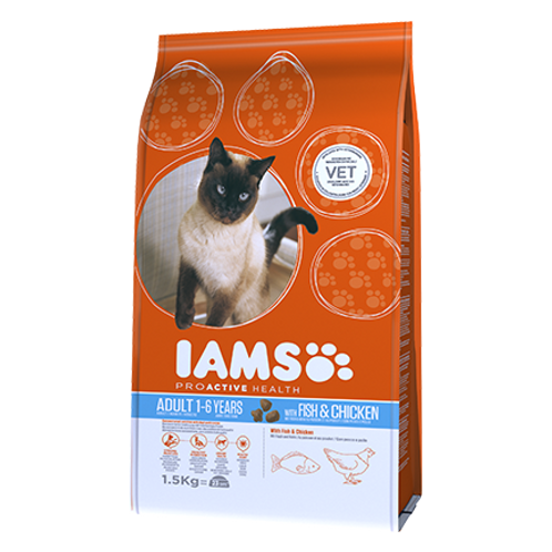 IAMS CAT ADULT FISH
