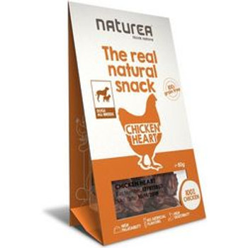 NATUREA NATURAL SNACK CHICKEN HEART