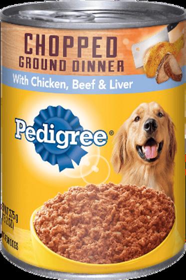 PEDIGREE BEEF&CHICKEN PATE 300GR
