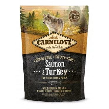 CARNILOVE DOG SALMON&TURKEY 400GR