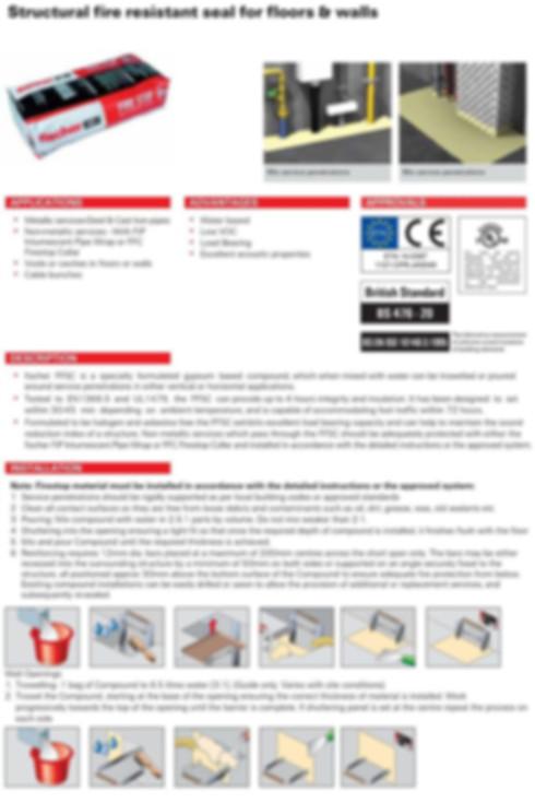 FFSC Firestop Compound