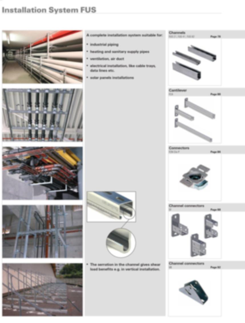 Installation System FUS