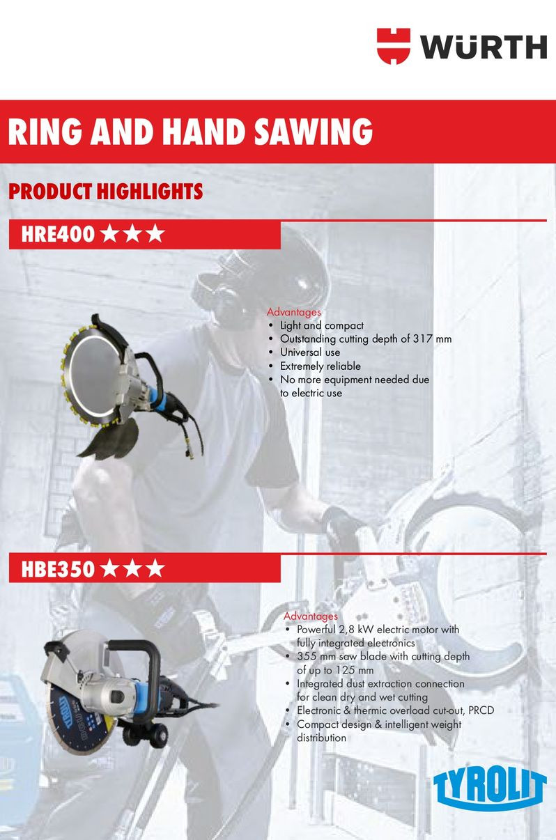 HRE400 & HBE350