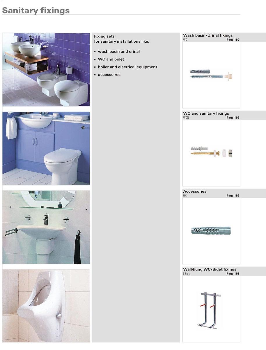 Sanitary Fixings