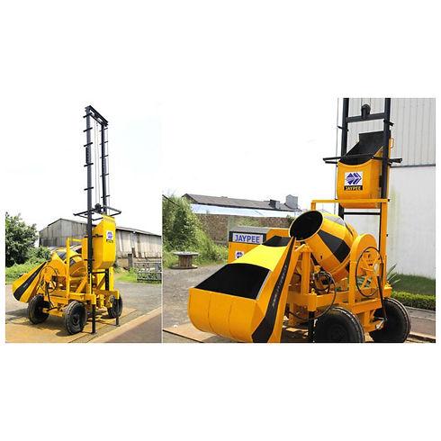 Concrete Mixer With Hoist / Concrete Lift Machine