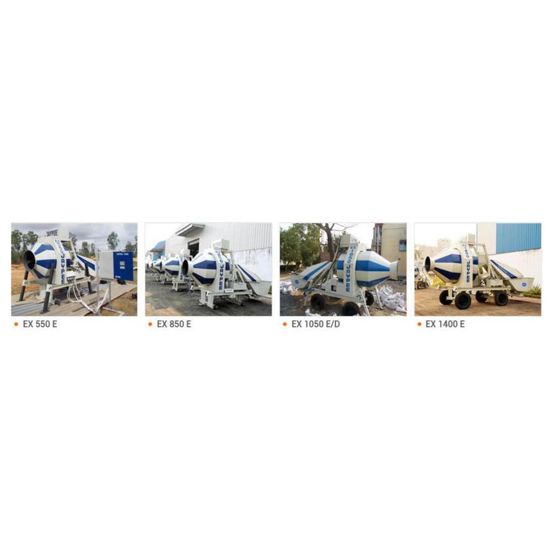 EX 550 E, EX 850 E, EX 1050 E/D, EX 1400 E