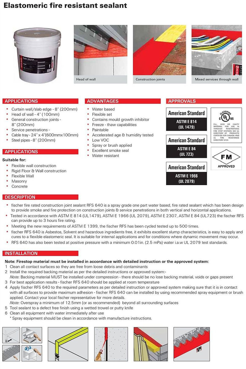 RFS 640 Rapid Fire Seal