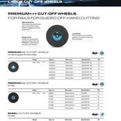 Large Cut-Off Wheels