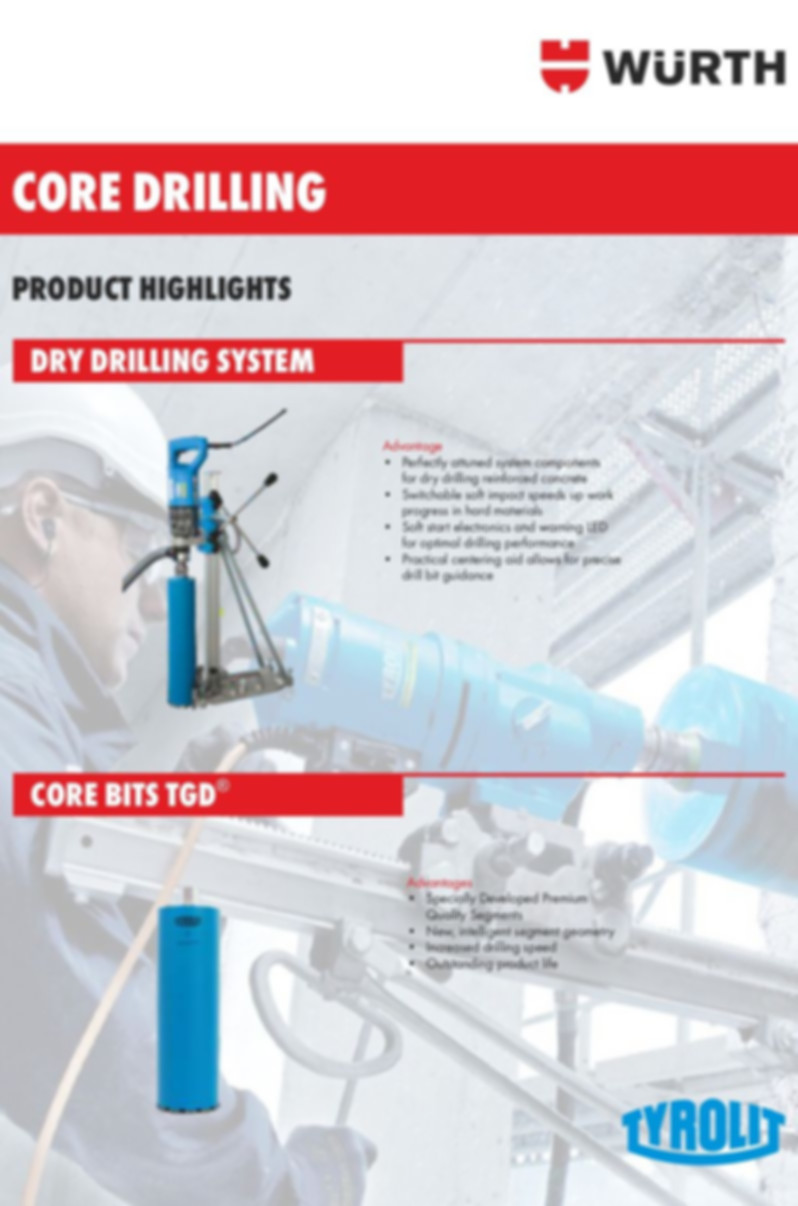 Dry Drilling System & Bits