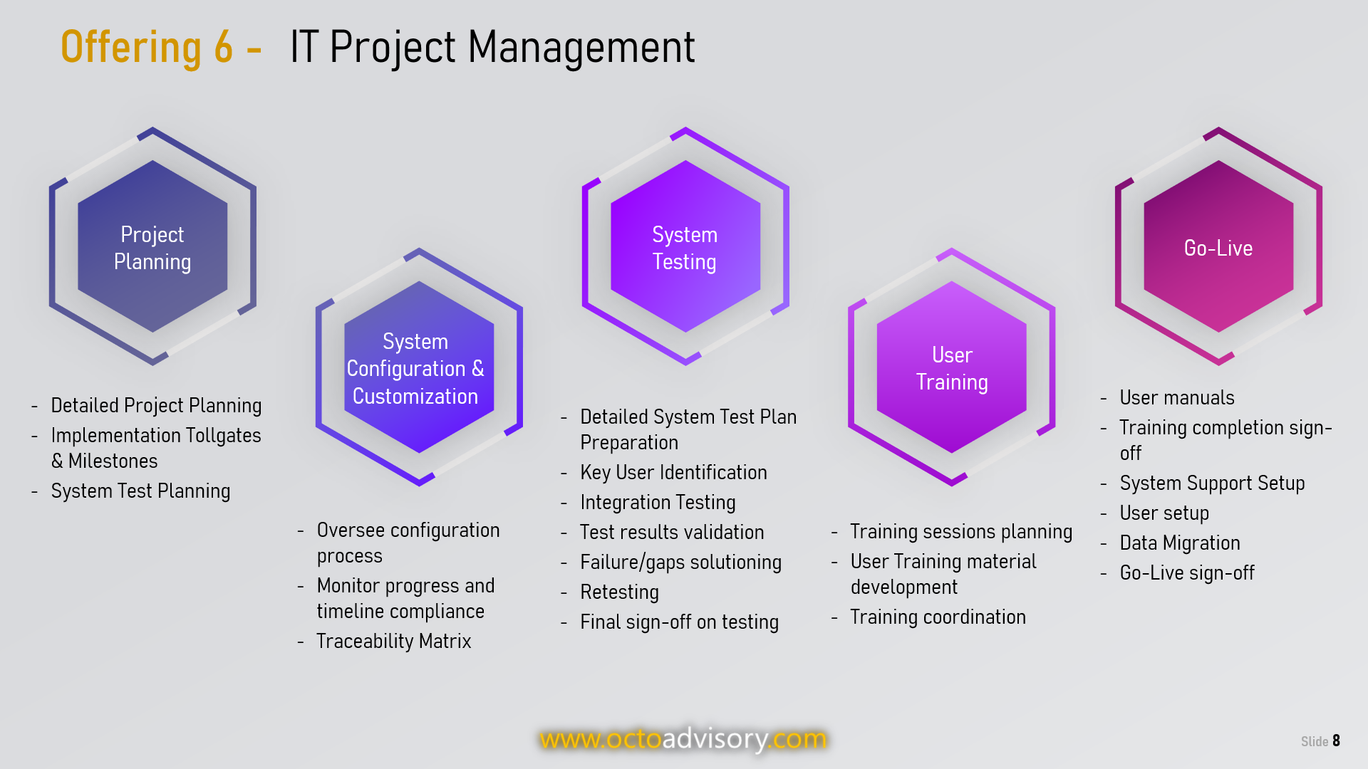 OCTO Project Management Services
