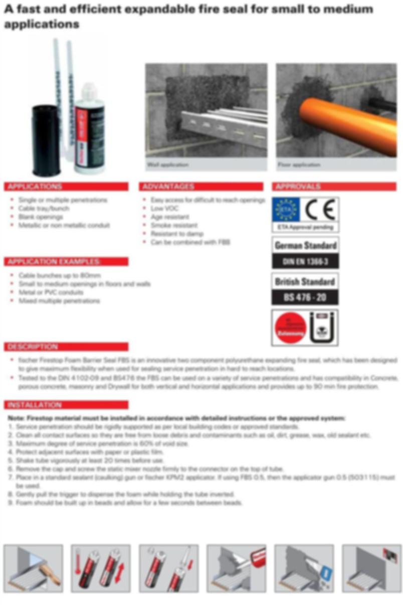 FBS Foam Barrier System