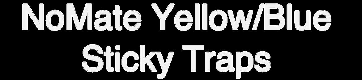 NoMate Yellow/Blue Sticky Trap