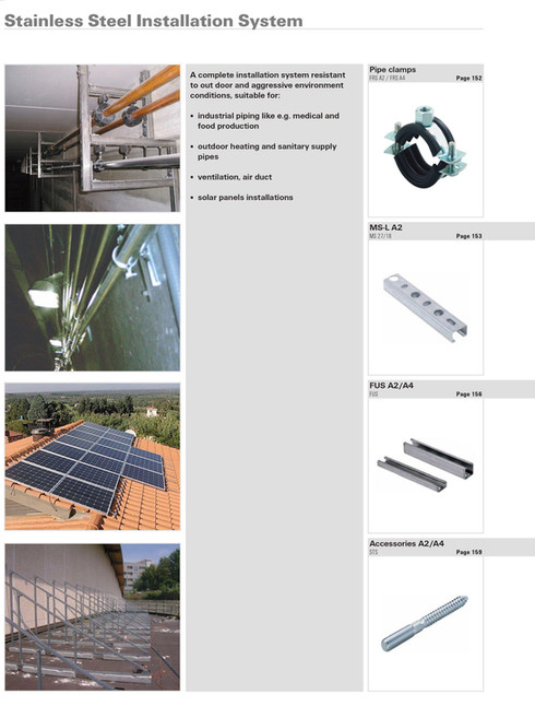 Stainless Steel Installation System