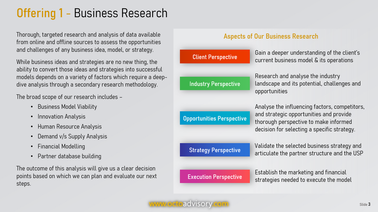 OCTO Business Research Services