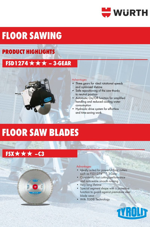 FSD 1274 & Blades