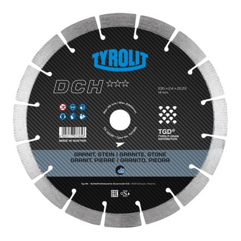 *DCH*** | in TGD-technology | Hard Stone