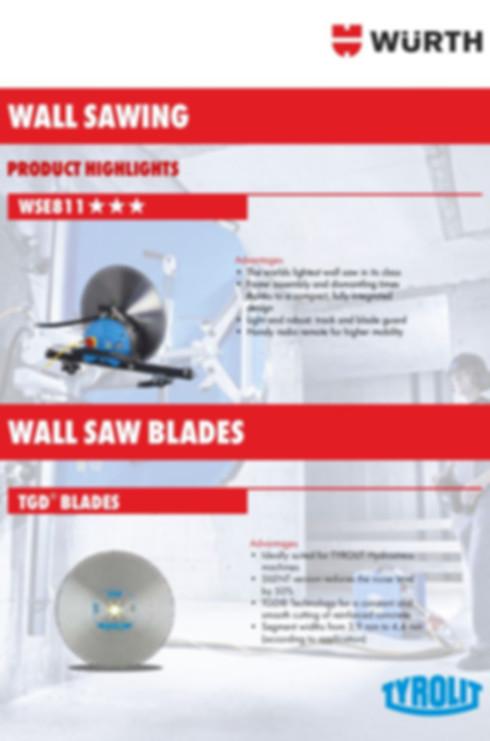 WSE811 & Blades