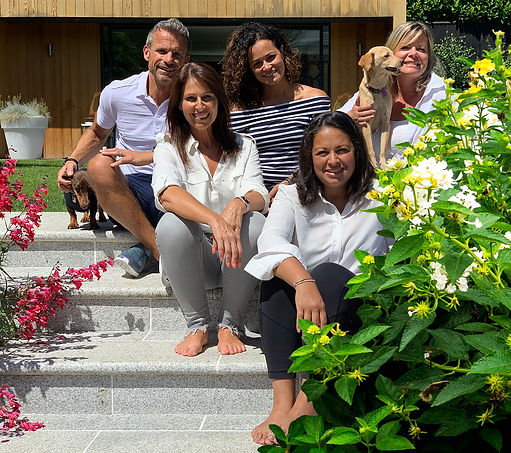 Kat Vitou, Deena Dawes and the Well Life Tribe team