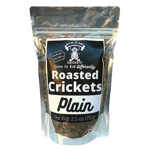 Plain Roasted Crickets