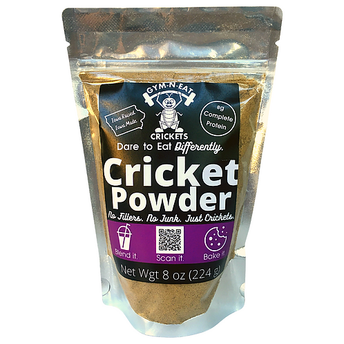 8 oz 100% Cricket Powder