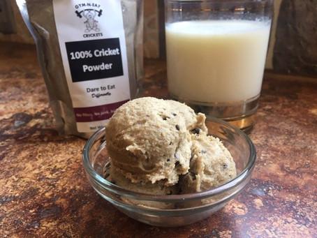 Edible Cricket Cookie Dough