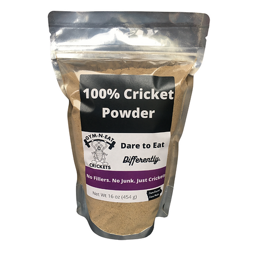 16 oz 100% Cricket Powder