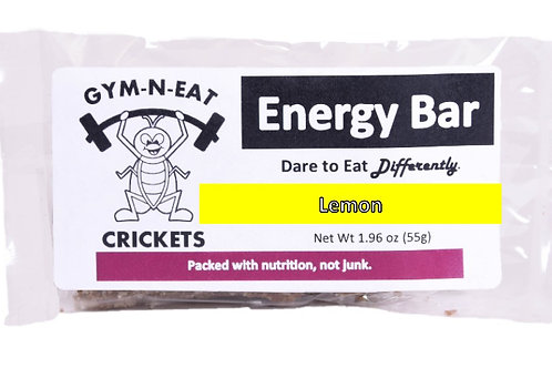 Lemon Energy Bar