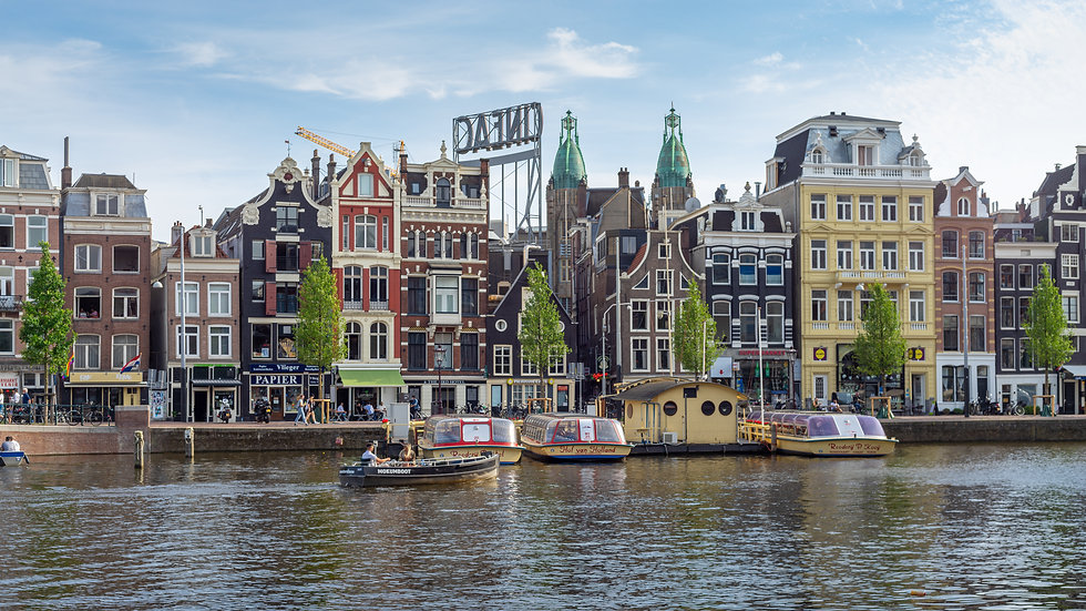 A Beautiful Amsterdam Canal View - photo by Kaan Sensoy