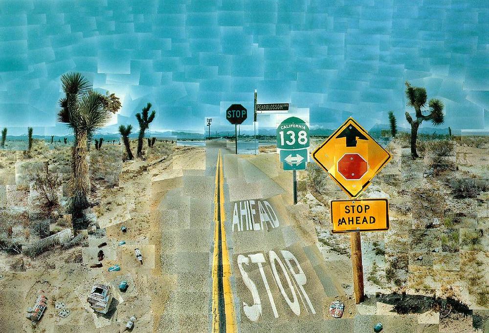 David Hockney 'Pearblossom Highway