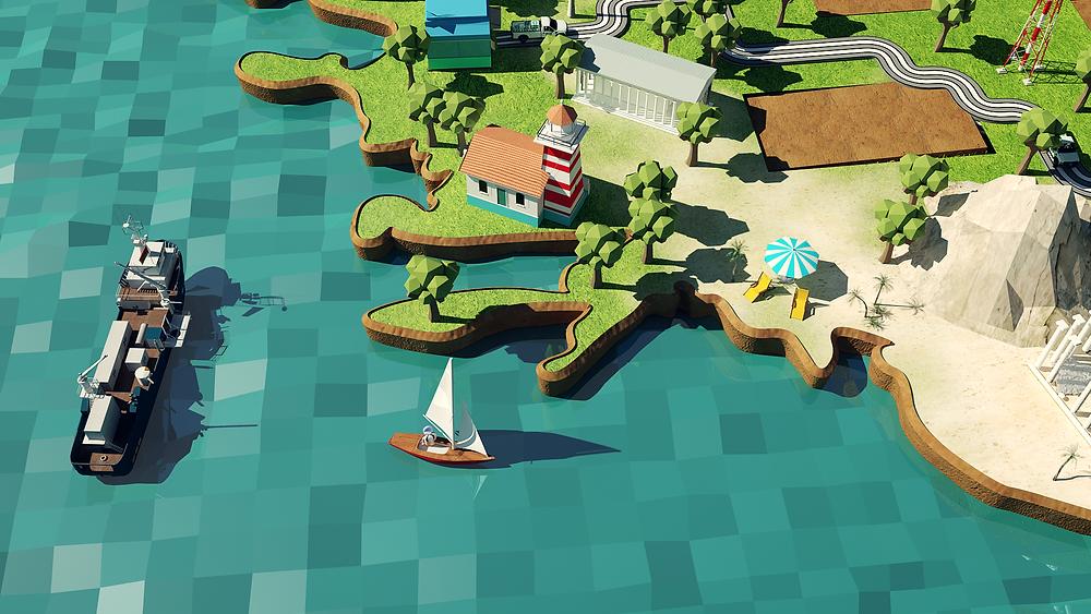 Toros Agri 3d animatie video