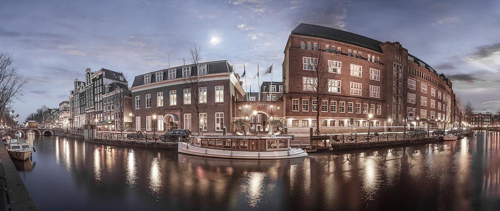 The Grand Amsterdam, Exhibition location