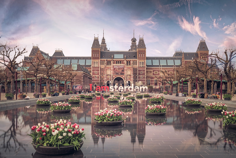 Rijksmuseum in The Spring, Amsterdam - Photo by Kaan Sensoy