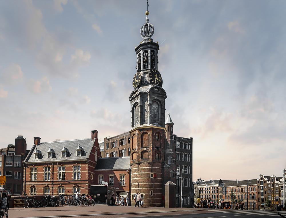 Munt Plain Amsterdam, Monument Fotoshoot