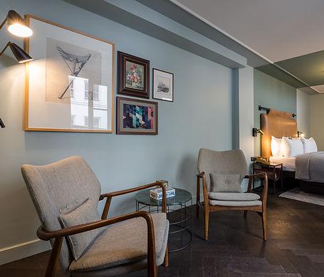 The Hoxton Amsterdam, Hotel room Fotoshoot