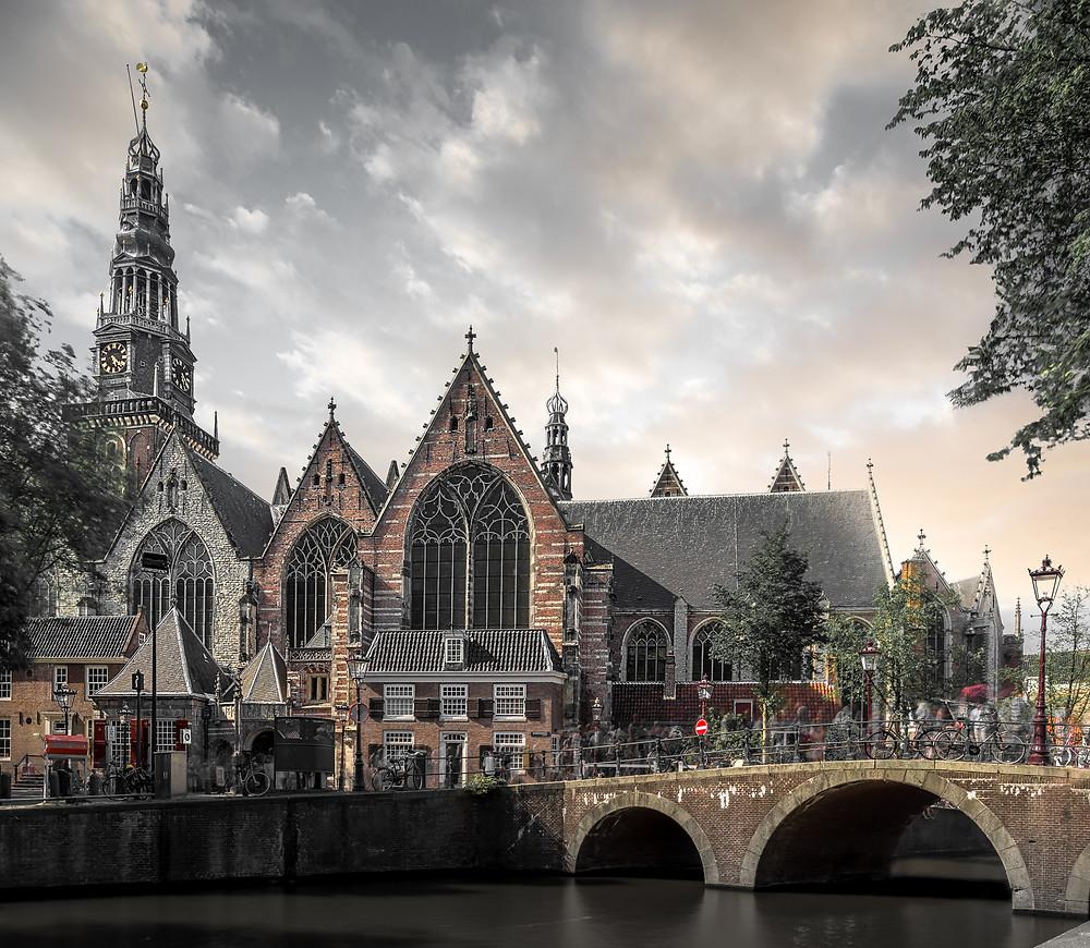 Oude Kerk Amsterdam, Fotografie