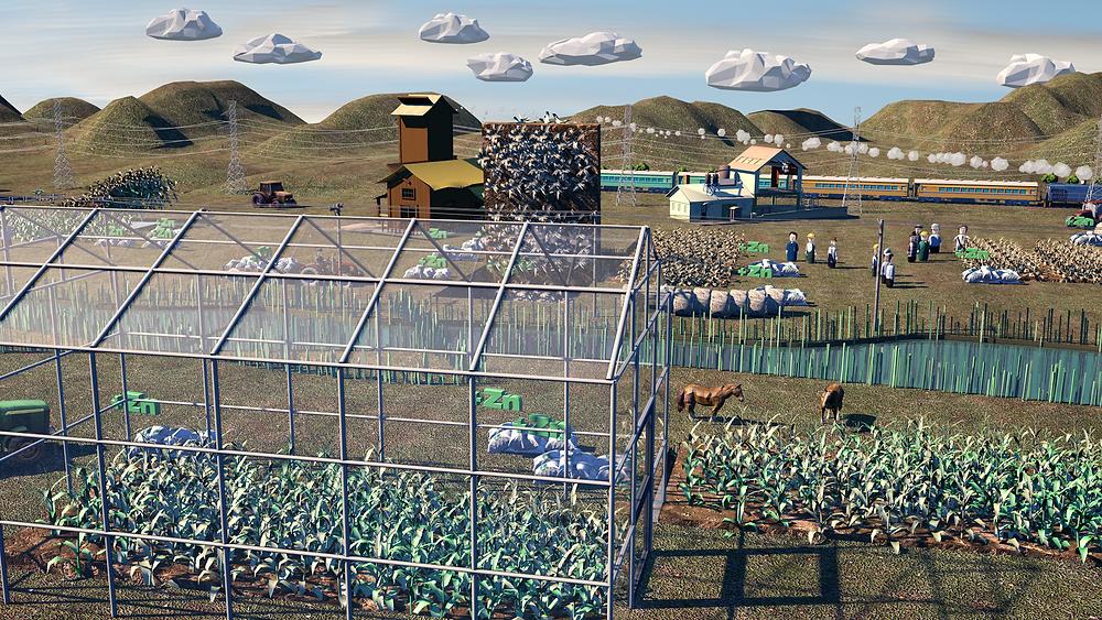 3D animatie werk voor TOROS AGRI