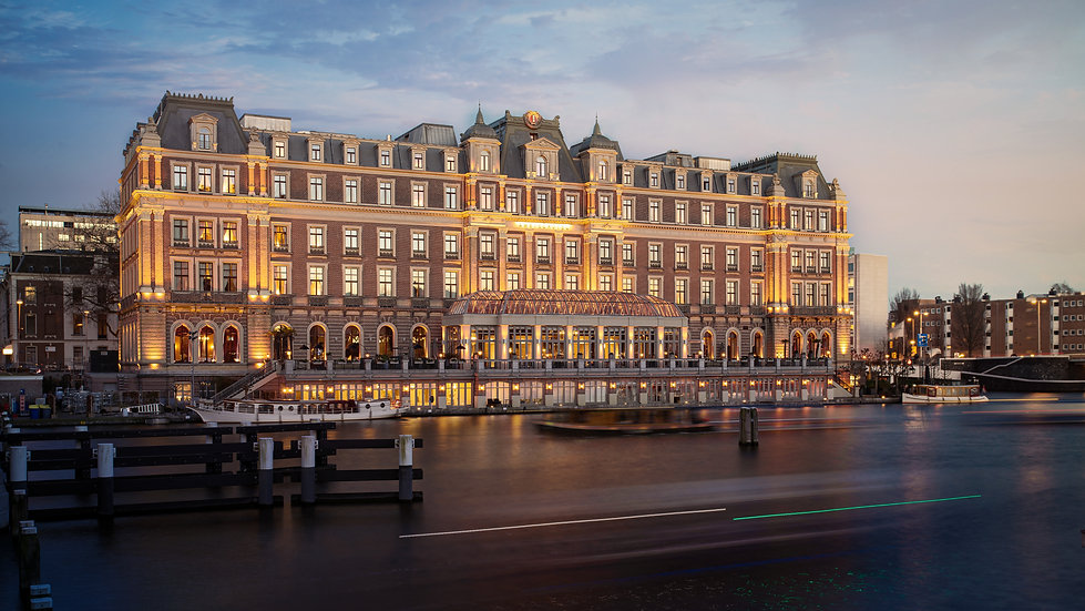 Amstel Hotel, Amsterdam - photo by Kaan Sensoy