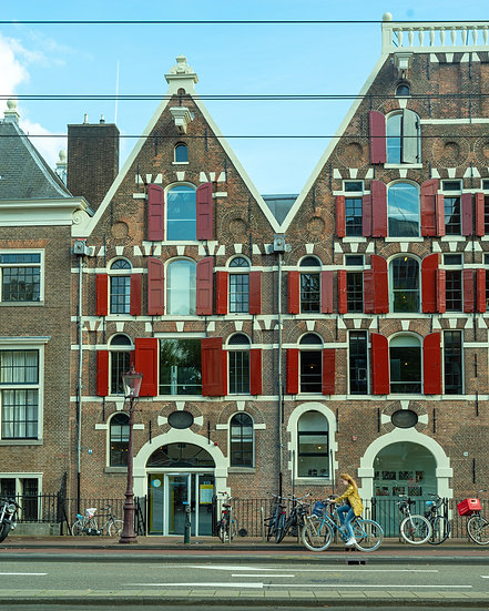 Academy of Architecture, Amsterdam - photo by Kaan Sensoy