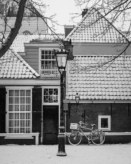 Winter in Amsterdam -BW