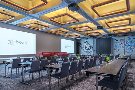 Hotel Bloom Brussels, Meeting Rooms,Event Fotografie. De beste interiro design en meeting rooms en Event Locations Fotografie.