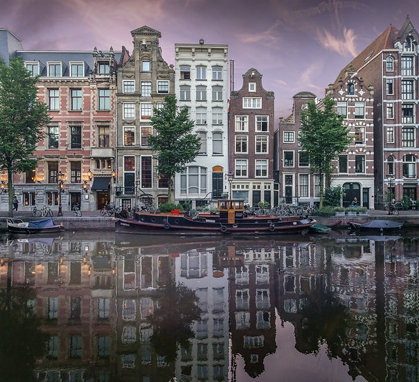 Herengracht-A Canal View- Amsterdam - photo by Kaan Sensoy
