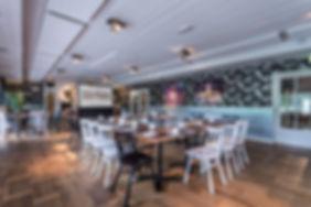 Restaurant, Meeting rooms en Event Rooms Fotogafie