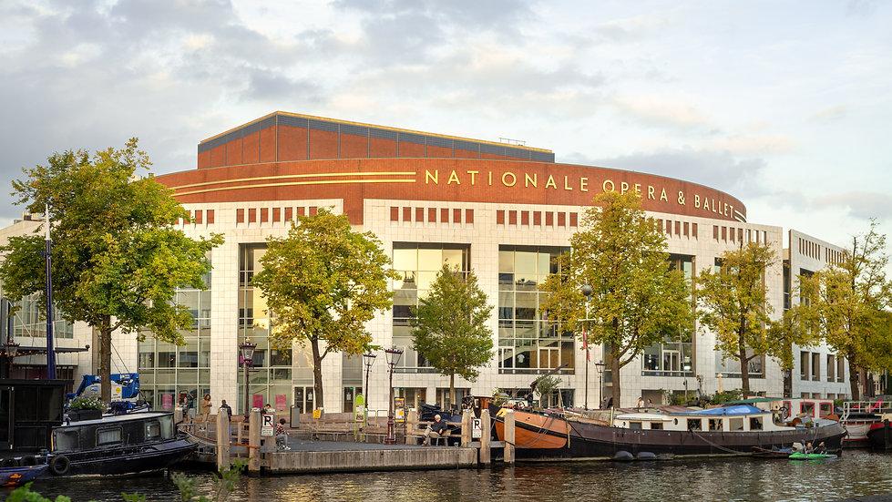 Stopera, Dutch National Opera & Ballet, Amsterdam - photo by Kaan Sensoy
