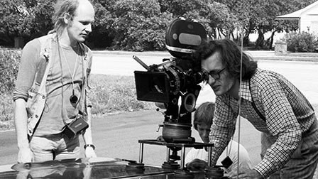 Robby Müller with Wim Wenders