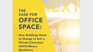 NEXT Energy Report: How Buildings Need to Change to Suit a Climate-Conscious, COVID-Weary Workforce